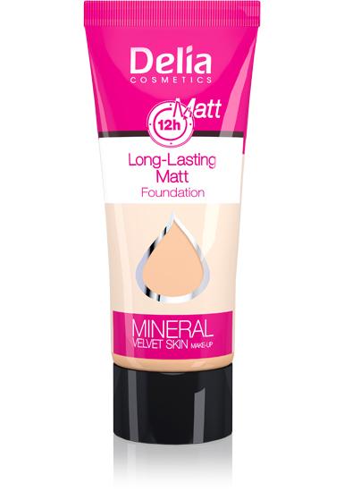 Delia Make-up Mineral VELVET SKIN č. 32 zmatňující 35ml