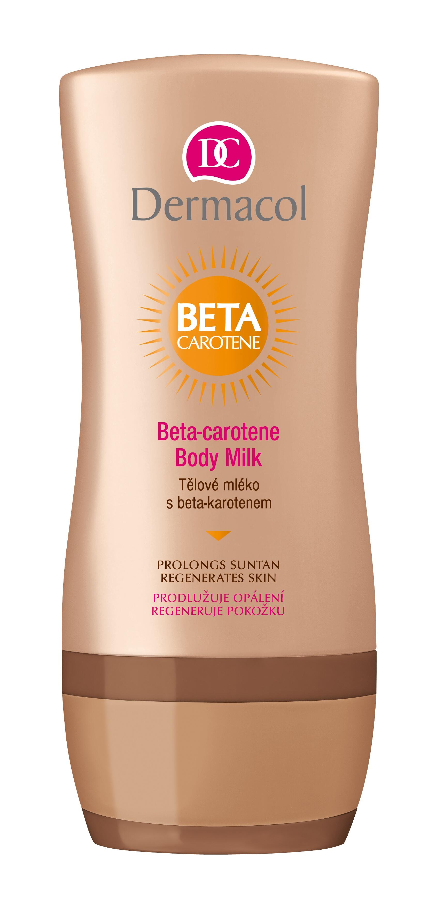 Tělové mléko po opalování Beta-Caroten 200ml Dermacol