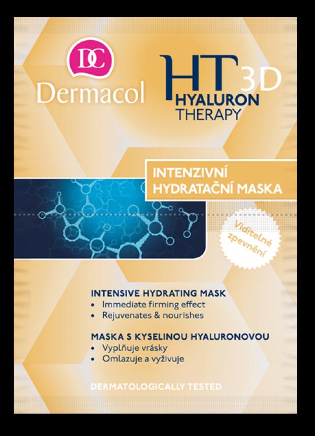Dermacol Hyaluron Therapy 3D Maska remodelační 16 ml hydratační