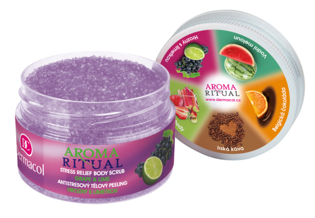 Dermacol Aroma Ritual Tělový peeling hrozno 200g