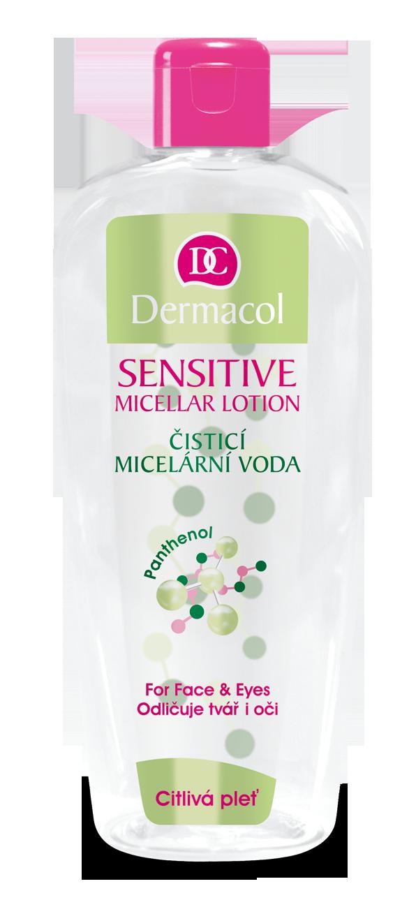 DERMACOL Sensitive Čisticí micelární voda 400 ml