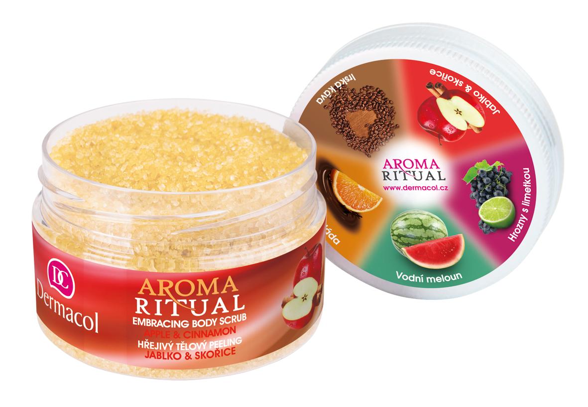 Dermacol Aroma Ritual Tělový peeling jablko se skořicí 200g