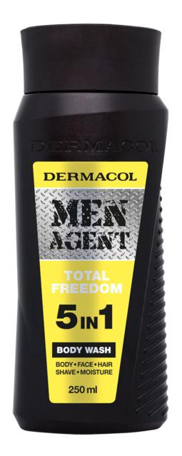 DERMACOL MEN AGENRT sprchový gel TOTAL FREEDOM 5v1 250ml