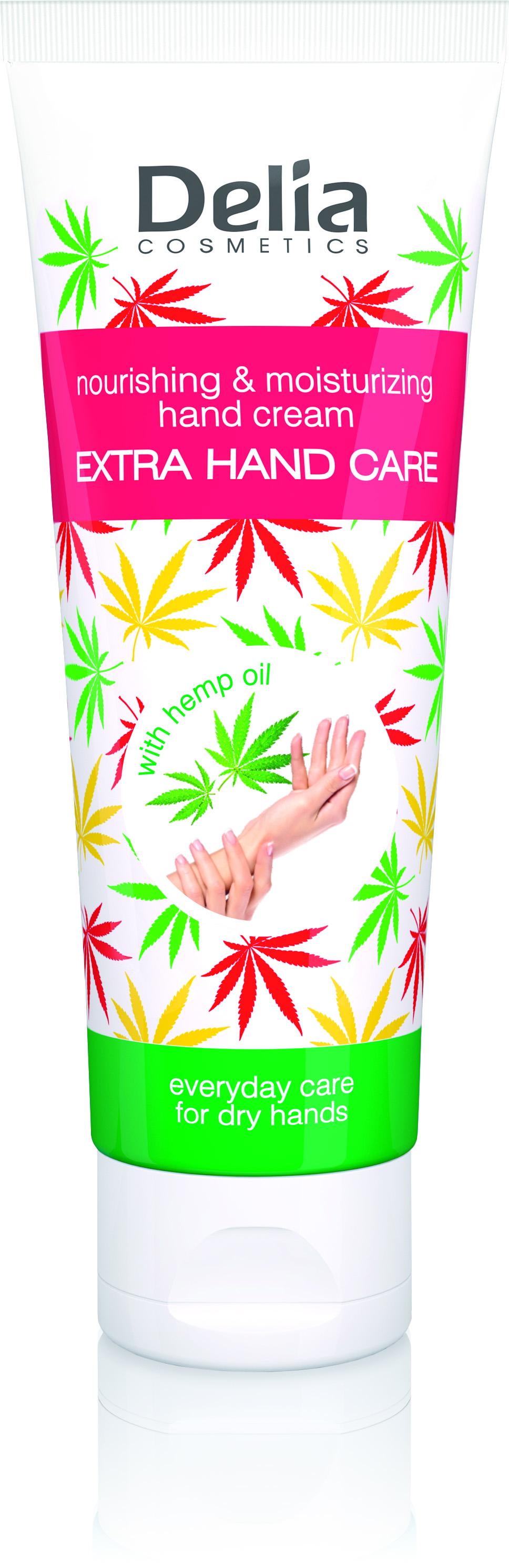 Delia CORAL krém na ruce oliva zimní 125ml