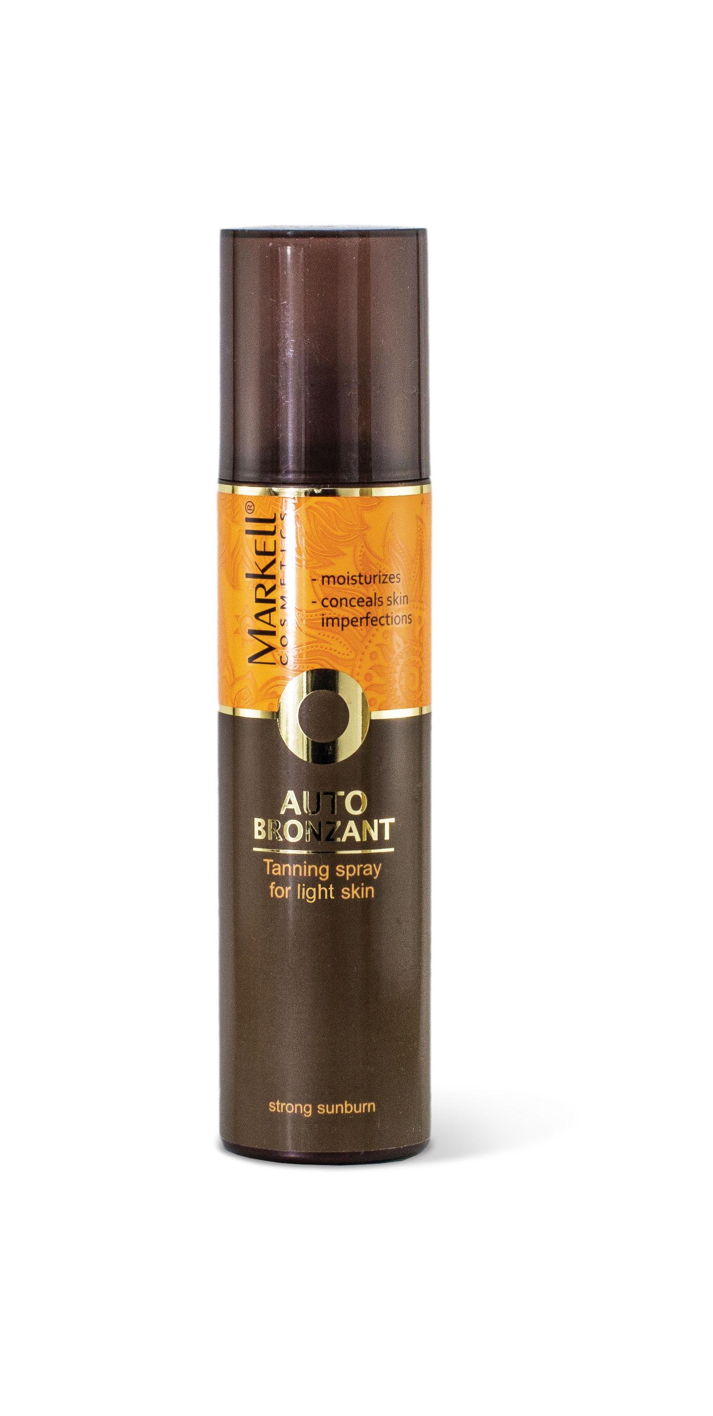MARKELL samoopalovací spray světla pleť 200ml