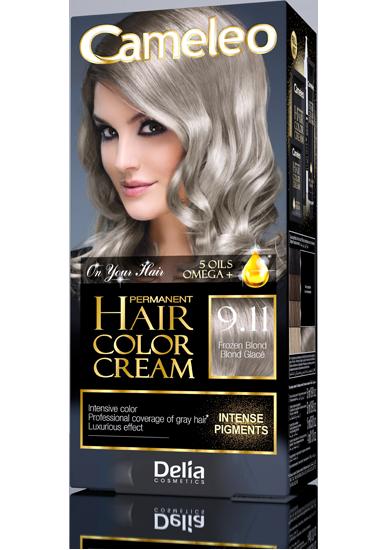DELIA CAMELEO Barva na vlasy 9.11 blond 50ml