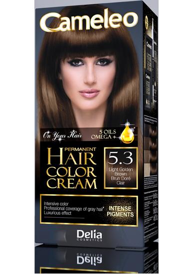 CAMELEO barva na vlasy 5.3 zlatavě hnědá