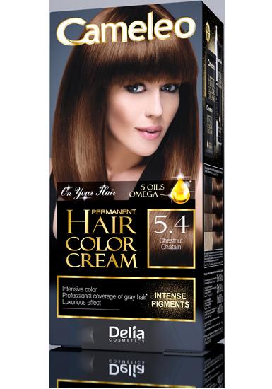 CAMELEO barva na vlasy 5.4 kaštan
