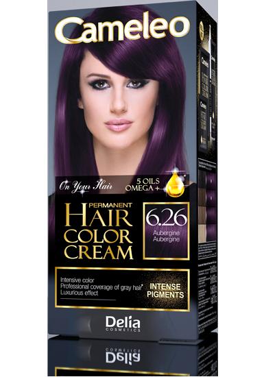 CAMELEO barva na vlasy 6.26 baklažán