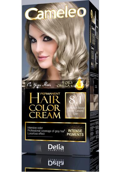 CAMELEO barva na vlasy 8.1 popelavá blond
