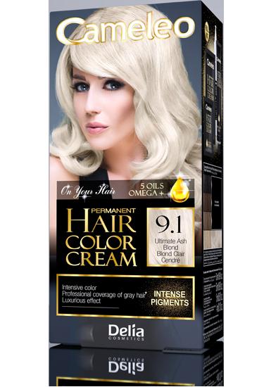 CAMELEO barva na vlasy 9.1 maximálně popelavá blond