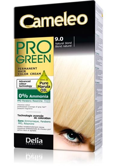 DELIA Cameleo Pro-green Barva na vlasy 9.0 blond natural 50 ml