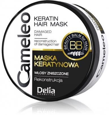 DELIA Cameleo maska na zničené vlasy 500ml