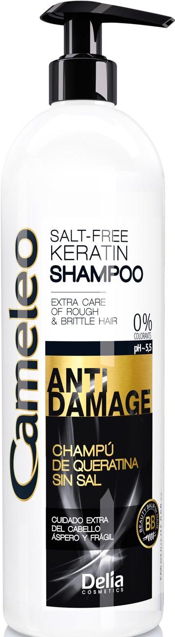 CAMELEO Keratinový šampón na zničené vlasy 500ml