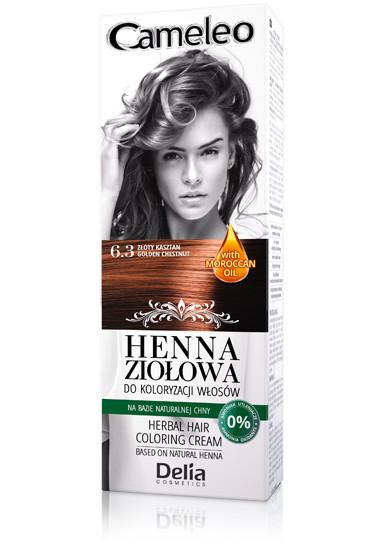 DELIA Cameleo Henna barva na vlasy 7.0 blond 75g