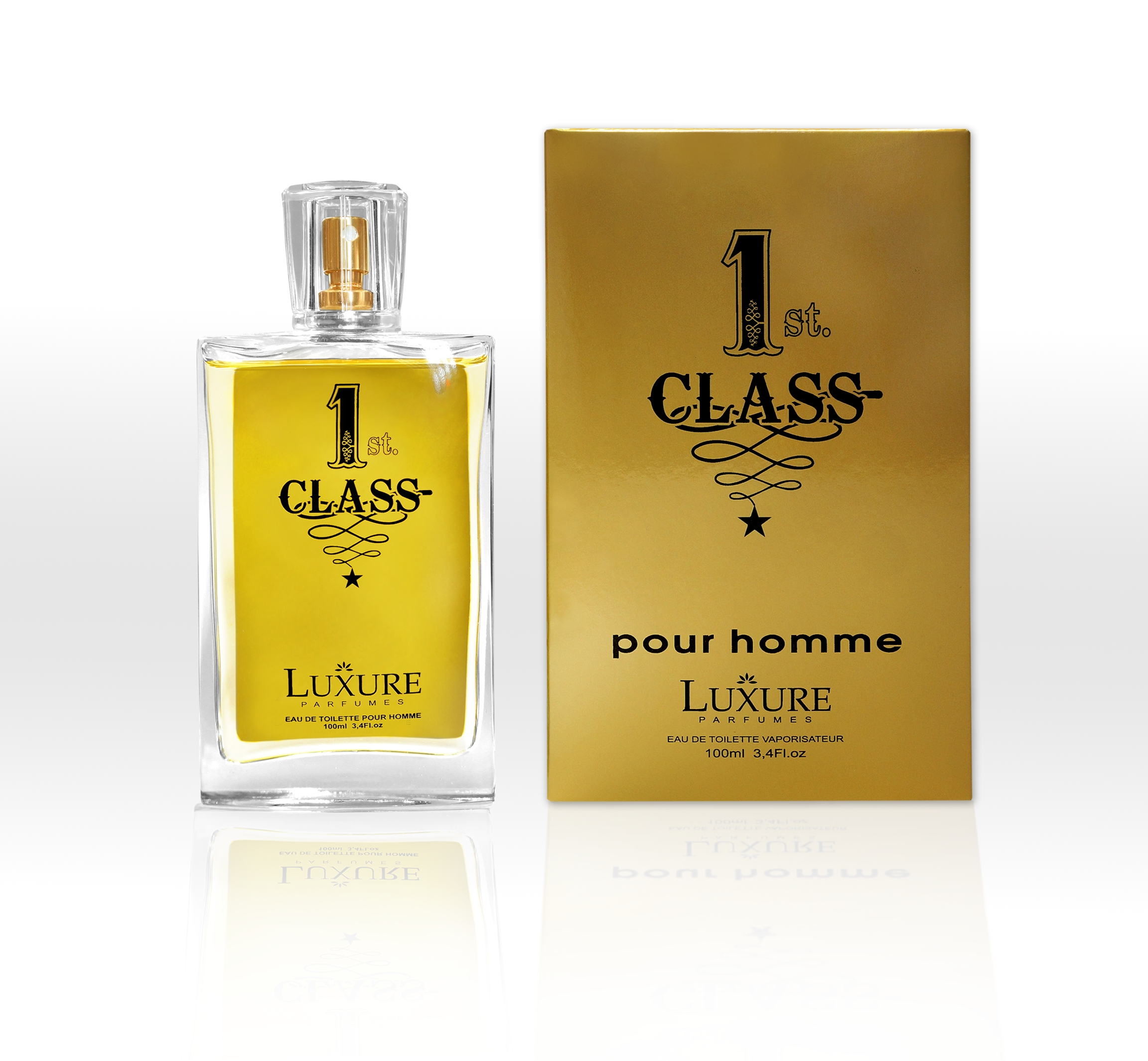 LUXURE Men 1 ST Class EDT pánská 100ml