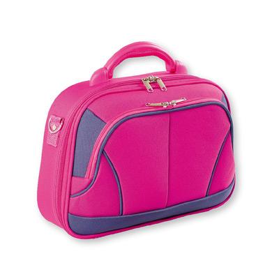 """Top Choice Kosmetický kufřík """"14"""" růžový L 94040"""