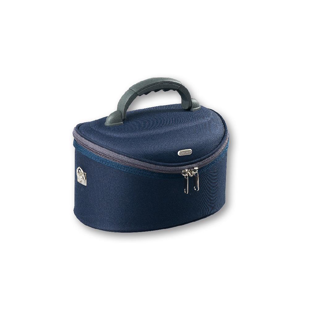 Kosmetický kufřík modrý 27,5x 17,5x16x5