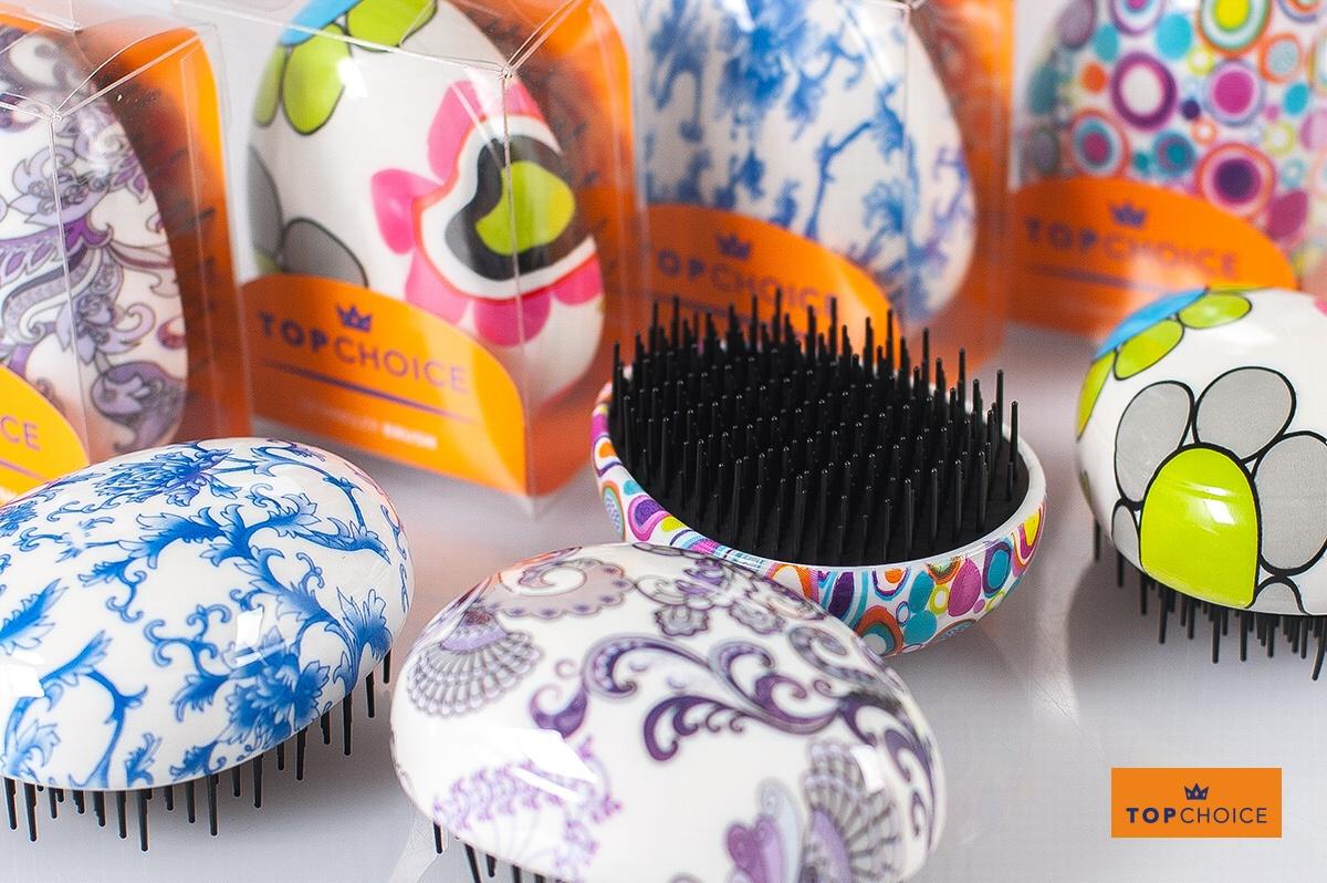 TopCHoice Kartáč na vlasy Detangler (63947)