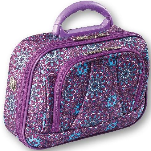18e47cf89 Top Choice Kosmetický kufřík ETHNO 95573 26x18x7cm Fialový