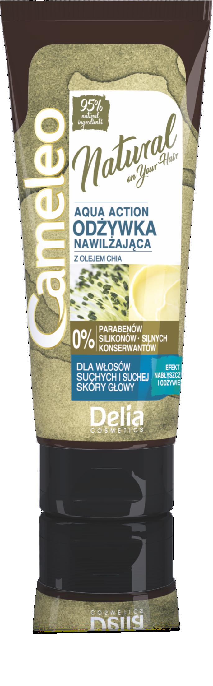 CAMELEO NATURAL 95% AQUA Vlasový kondicioner na suché vlasy 200ml