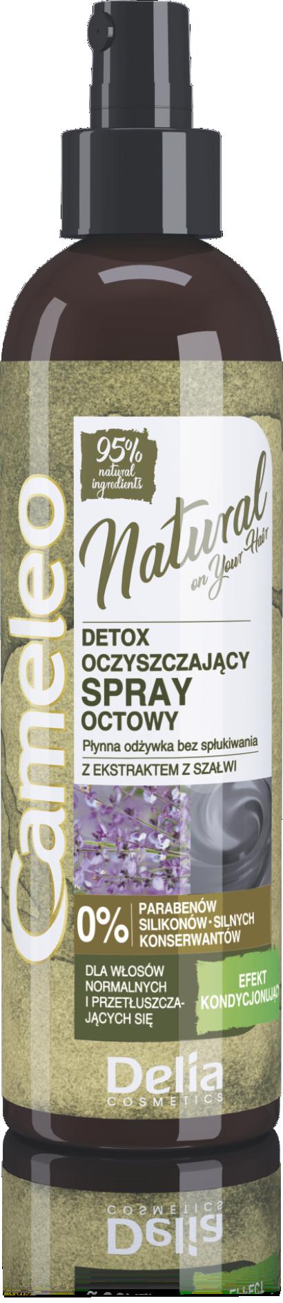 CAMELEO NATURAL 95% Vlasový kondicioner ve spreji DETOX 200ml