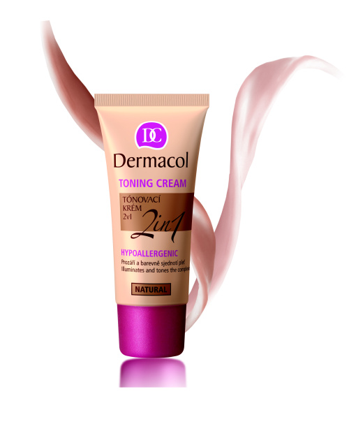 DERMACOL Toning Cream 2in1 tónovací krém Desert 30 ml