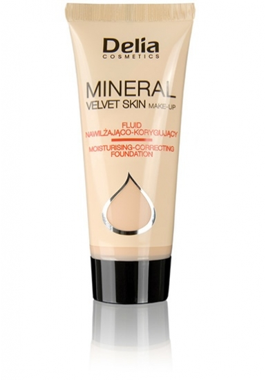 Delia DELIA Mineral Make-up hydratační č.4 35ml