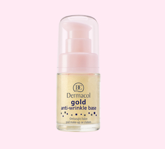 Dermacol omlazující báze pod make-up se zlatem Gold Anti-Wrinkle Base 15 ml