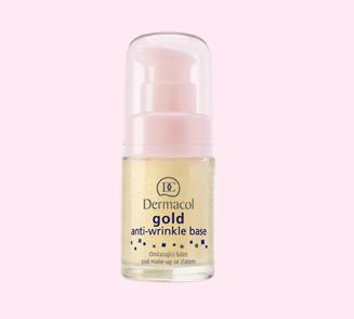 Dermacol omlazující báze pod make-up se zlatem Gold Anti-Wrinkle Base 15 ml