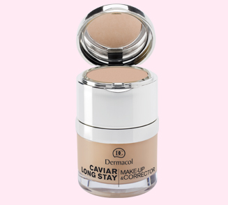 Dermacol Caviar Long Stay make-up & Corrector 04 Tan 30 ml