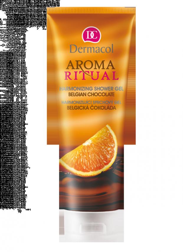 Dermacol Harmonizující sprchový gel Belgická čokoláda s pomerančem 250 ml
