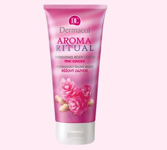 Dermacol Povzbuzující tělové mléko Růžový zázvor 200 ml