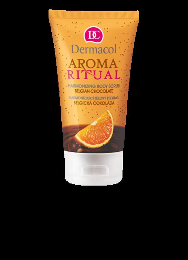 Dermacol Aroma Ritual Harmonizující tělový peeling Belgická čokoláda 150 ml