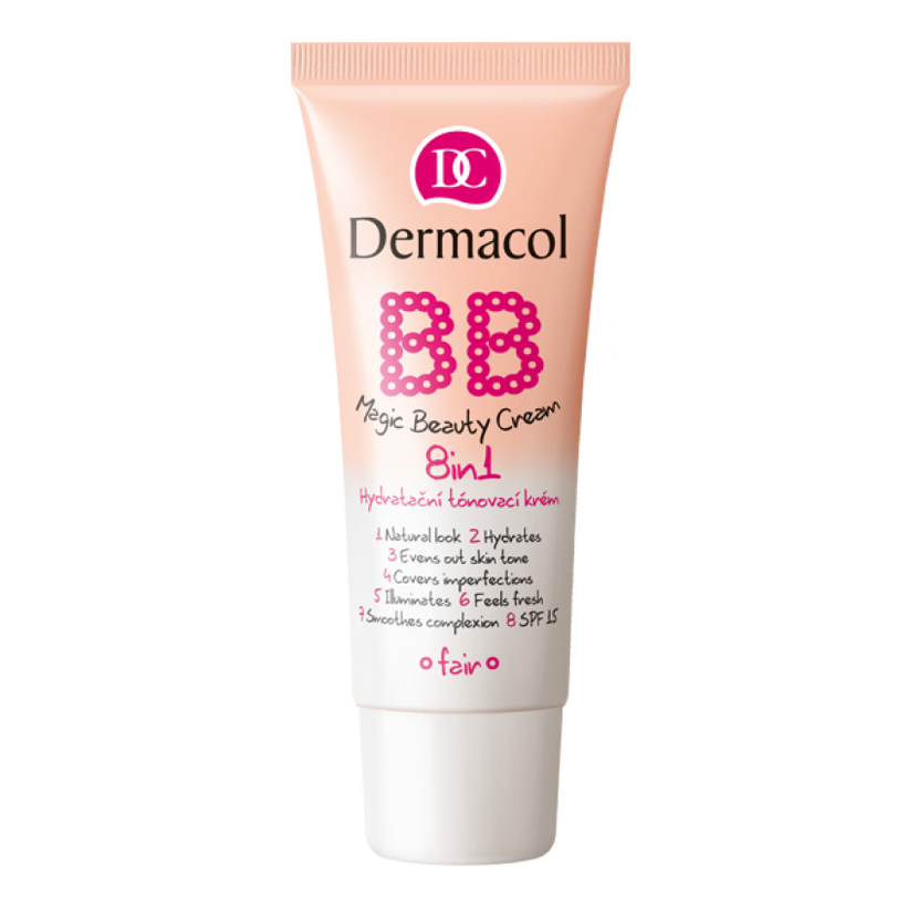 Dermacol BB krém 8v1 Magic Beauty Cream, nude, 30 ml