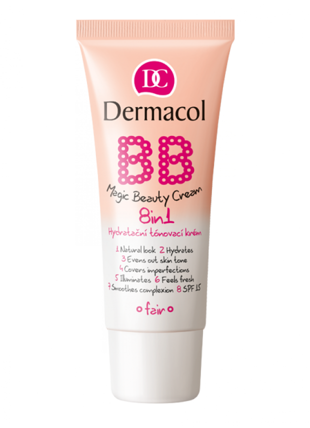 Dermacol BB Magic Beauty Cream 8in1 Hydratační tónovací krém 8v1 30 ml SHELL