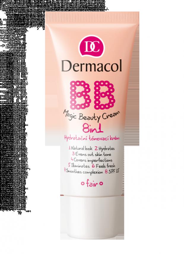 Dermacol BB Magic Beauty Cream 8in1 Hydratační tónovací krém 8v1 30 ml SHELL