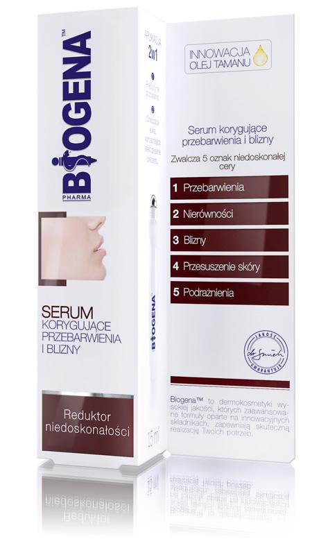 Biogena pleťové sérum na jizvy a kosmetické skvrny 15ml