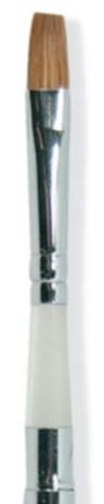Štětec pro gel č6 přírodní skládací B844