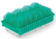 Top Choice Kartáček PVC na ruce a nehty s přírodní pemzou