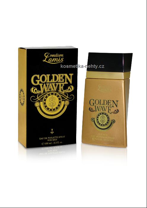 CREATION LAMIS Golden Wave toaletní voda pro muže 100 ml
