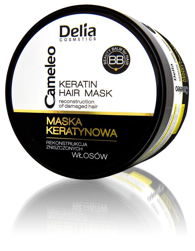 Delia Cameleo keratinová maska na vlasy 200ml