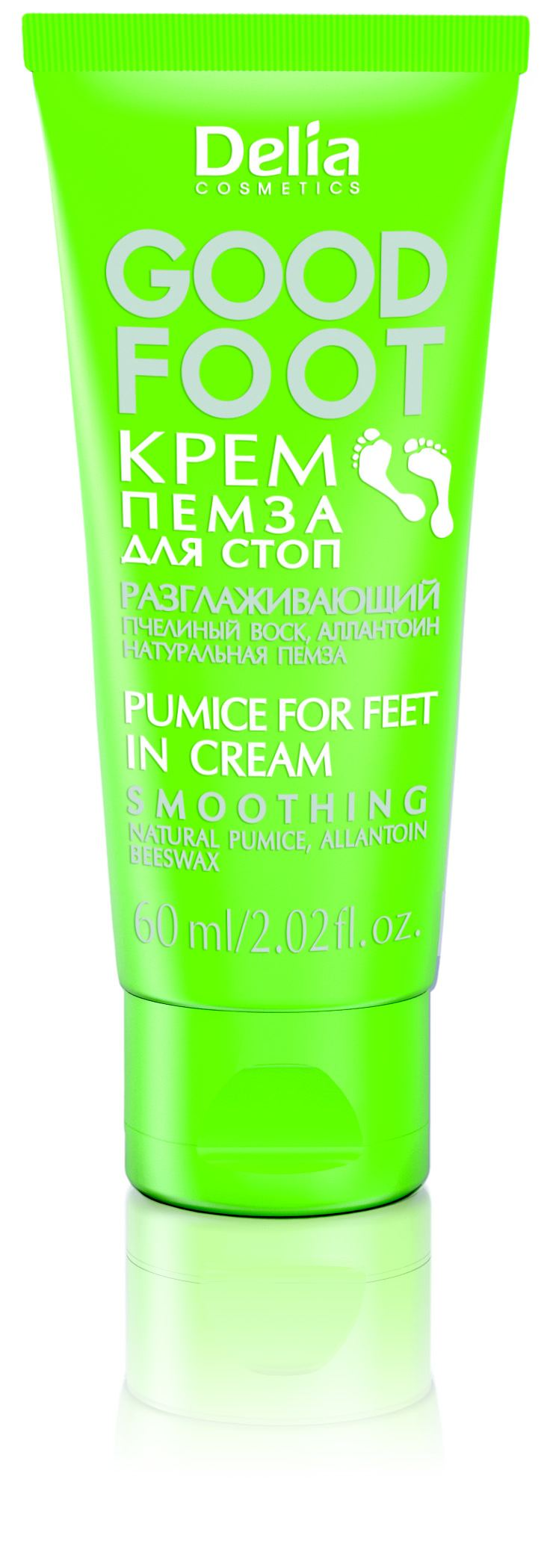 Delia GOOD FOOT krém pemza na nohy 60ml