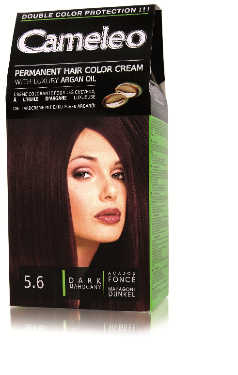 CAMELEO barva na vlasy 5.6 tmavý mahagon