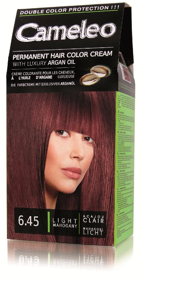 CAMELEO barva na vlasy 6.45 světlý mahagon