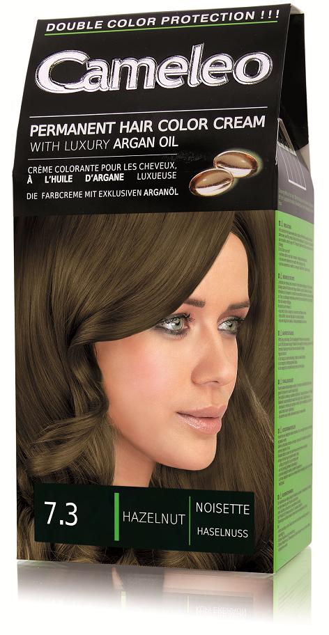 CAMELEO barva na vlasy 7.3 lískový oříšek
