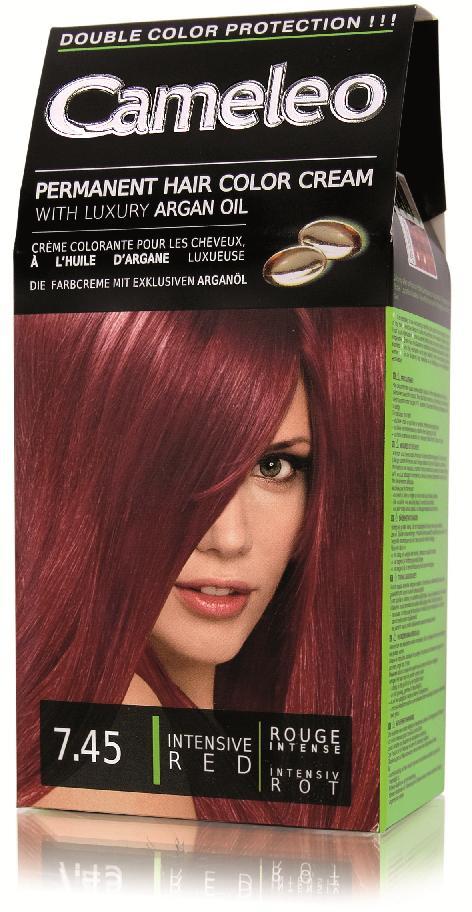 CAMELEO barva na vlasy 7.45 intenzivní červená