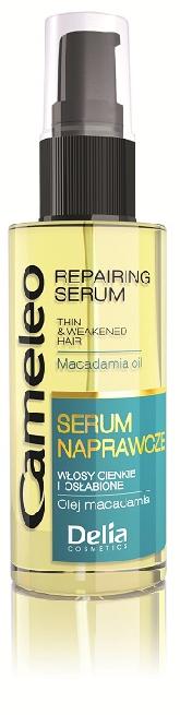 DELIA Sérum na oslabené a tenké vlasy Cameleo s makadamovým olejem 55 ml