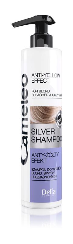 DELIA Cameleo Šampon na blond vlasy Silver 250 ml