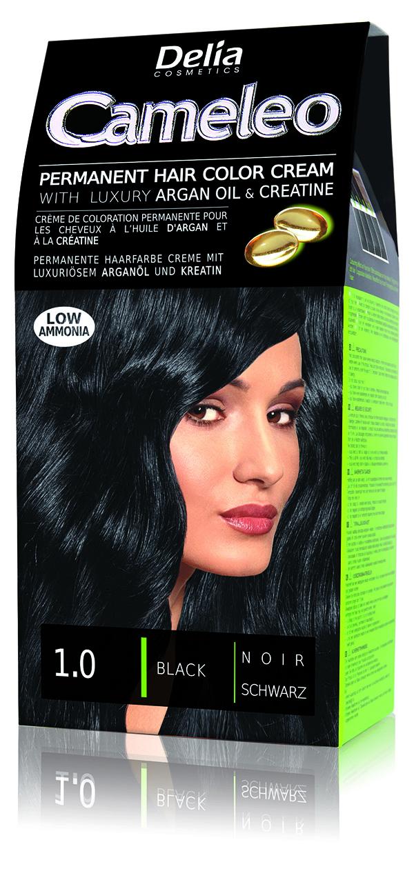 CAMELEO barva na vlasy 1.0 černá